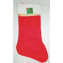 144 Units of Christmas Stocking: 16 Inch - Christmas Stocking