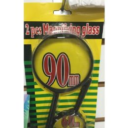 24 Units of 2 PIECE MAGNIFYING GLASS SET - Magnifying  Glasses