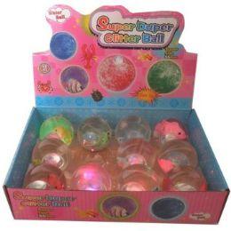 72 Units of SUPER DUPER FLASHING BALLS - Balls