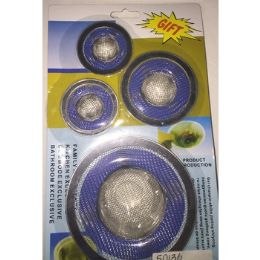 60 Units of 4 Pack Kitchen/bathroom Sink Strainer - Bathroom Accessories