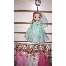 72 Units of Keychain With Doll In Beautiful Outfits - Key Chains