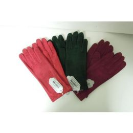 36 Units of WOMEN'S GENUINE LEATHER GLOVES - Leather Gloves
