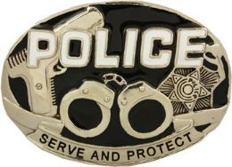 24 Units of Police Belt Buckle - Belt Buckles