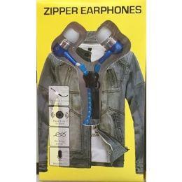 48 Units of Novelty Zipper Headphones - Headphones and Earbuds