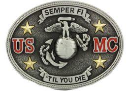 24 Units of US Marine Crops Belt Buckle - Belt Buckles