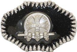 24 Units of Skull Belt Buckle - Belt Buckles