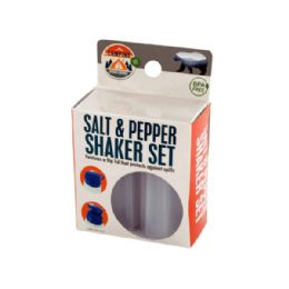 60 Units of Camping Salt & Pepper Shaker Set - Camping Gear