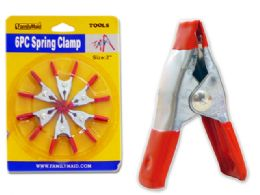 96 Units of 6pc Spring Clamps - Clamps