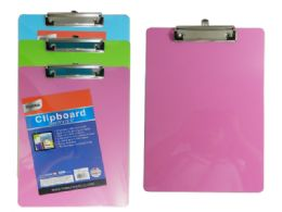 "96 Units of 9"" X 12.5"" Clipboard - Clipboards and Binders"