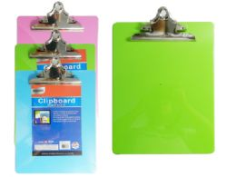 """96 Units of 9"""" X 12.5"""" Clipboard, 2mm Thick - Clipboards and Binders"""
