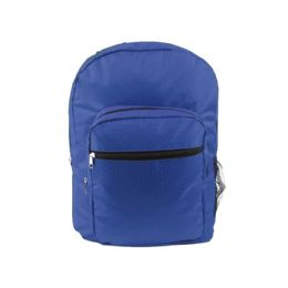 """24 Units of 17"""" Backpack In Royal Blue - Backpacks 15"""" or Less"""