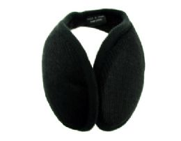 48 Units of Earmuff with a band that goes behind the head with a small plaid print - Ear Warmers
