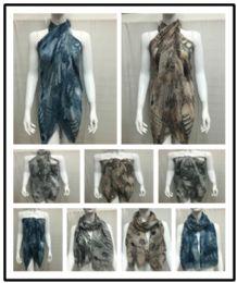 36 Units of Ladies Summer Fashion Scarf Mixed Prints - Womens Fashion Scarves