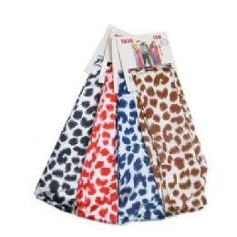 72 Units of Animal Print Fashion Scarves - Womens Fashion Scarves