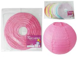 "288 Units of 12"" Paper Lantern - Hanging Decorations & Cut Out"