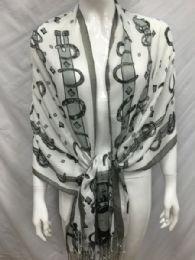 36 Units of Ladies Fashion Scarf Wrap - Womens Fashion Scarves