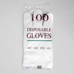 100 Units of Gloves Disposable - Kitchen Gloves