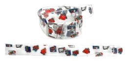 72 Units of Grade School Children's Printed Belt - Kid Belts