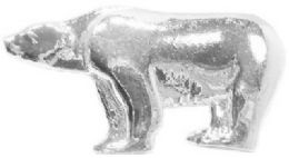 36 Units of Silver Tone Bear Pins - Jewelry & Accessories