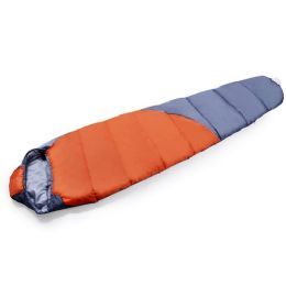 4 Units of 1 Person Sleeping Bag With Diagonal Pattern - Camping Sleeping Bags