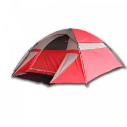2 Units of 3 Person Dome Shaped Camping Tent - Camping Sleeping Bags