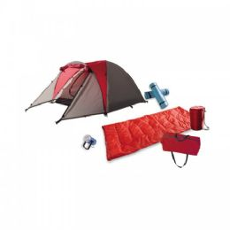 2 Units of 2 Person Camping Gear Set - 7 Pieces - Camping Sleeping Bags