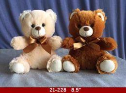 """24 Units of 9"""" Soft Plush Bear Set - Plush Toys"""