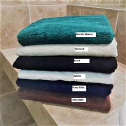 12 Units of Millennium Bath Towels Superior Quality 27 x 52 Hunter Green - Bath Towels