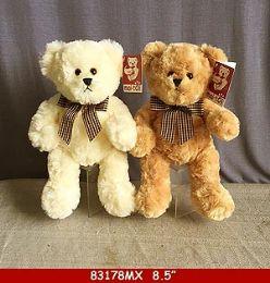 "12 Units of 8.5"" Plush Toy Teddy Bear - Plush Toys"