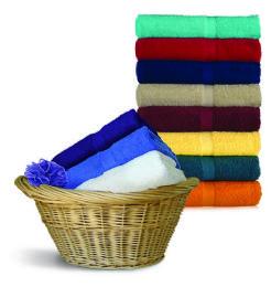 24 Units of Royal Comfort Luxury Bath Towels 24 X 48 Salsa Red - Bath Towels