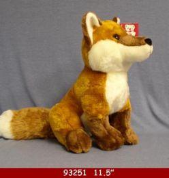 "12 Units of 11"" Plush Toy Fox - Plush Toys"