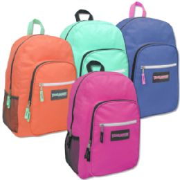 "24 Units of Trailmaker Deluxe 19 Inch Backpack With PaddinG- Girls - Backpacks 18"" or Larger"
