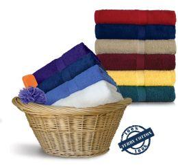 24 Units of Royal Comfort Luxury Bath Towels 30 X 52 Caribean Blue - Bath Towels