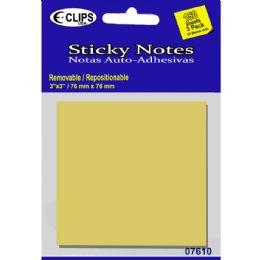 48 Units of Sticky notes, 50 sheets each - Sticky Note & Notepads