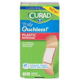 48 Units of Bandages Curad 25ct Ouchless - Bandages and Support Wraps