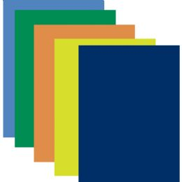 100 Units of Poster Board - Assorted Colors - Poster & Foam Boards
