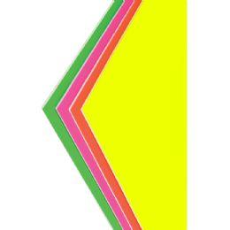 """50 Units of Foam Board - Assorted Neon Colors - 20"""" X 30"""" - Poster & Foam Boards"""