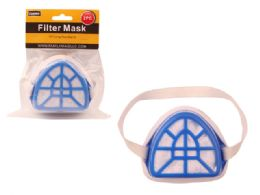 96 Units of 2 Piece Filter Mask - Hardware Shop Equipment