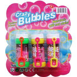 24 Units of Three Piece Crazy Bubbles - Bubbles