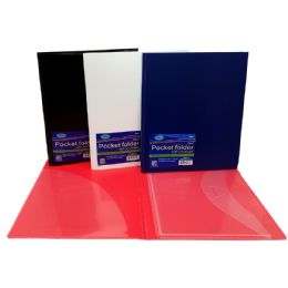 48 Units of Folder with lock envelope and pocket - Poster & Foam Boards