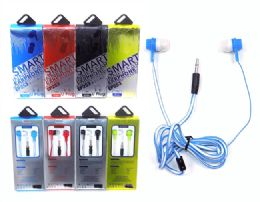 192 Units of Silicone Stereo Earphone - Headphones and Earbuds