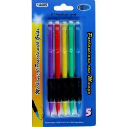 48 Units of Mechanical Pencils w/ grips, 5 Pk. - Mechanical Pencils & Lead
