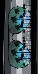"12 Units of Cotton Printed Fiber Reactive Beach Towel 30"" x 60"" Sunglasses - Beach Towels"