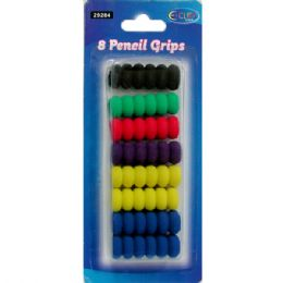 48 Units of Pencil Grips - 8 Count - Pencil Grippers / Toppers