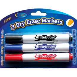 48 Units of Whiteboard markers, 3 Pk.