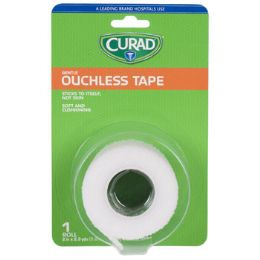 48 Units of Tape Ouchless Curad 2in X 2.3yd - First Aid and Bandages