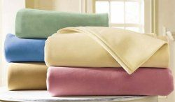 8 Units of Platinum Fleece Luxury Blankets Twin 66 X 90 Tan - Fleece & Sherpa Blankets
