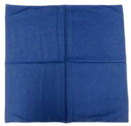 72 Units of Plain navy blue bandanna. - Bandanas