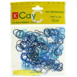 72 Units of Assorted colored mini rubber bands - Rubber Bands
