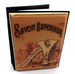 """6 Units of Photo Album With """"savon Superieur"""" Written Across The Top And """"parfumerie Francaise"""" Written Within A Floral Design - Picture Frames"""